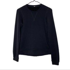 Lululemon Black Cozy Crewneck Sweater Top